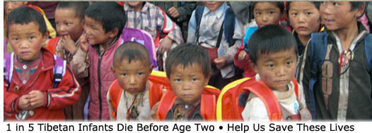 child welfare missions to Tibet