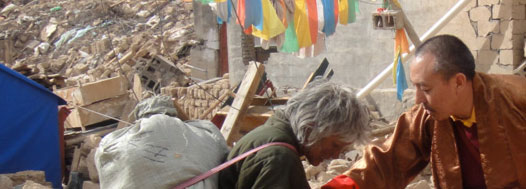 the raktrul foundation send help to villagers in Tibet